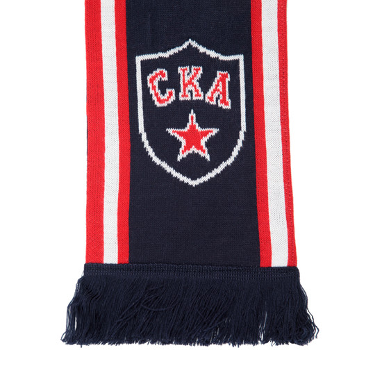 SKA knitted double sided scarf
