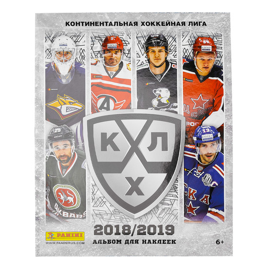 Альбом PANINI HOCKEY RU SEASON 11/КХЛ сезон 2018-19