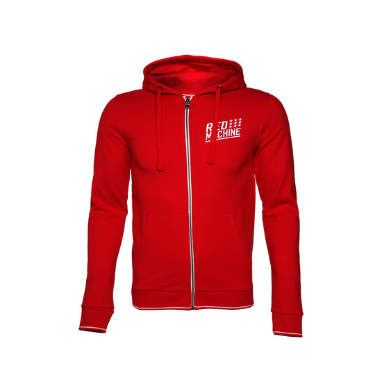 "Men`s hoodie ""Red machine"""