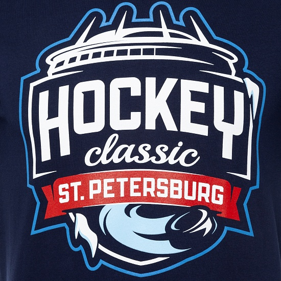 "Футболка ""Hockey. Classic. Petersburg"""