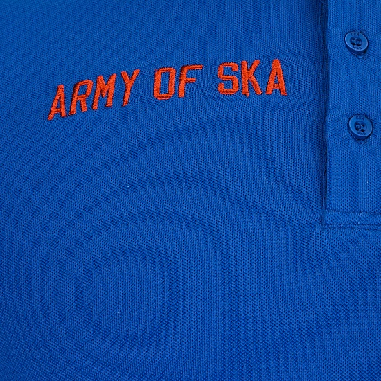 SKA men's polo