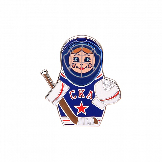 "SKA metal pin ""Matryoshka"""