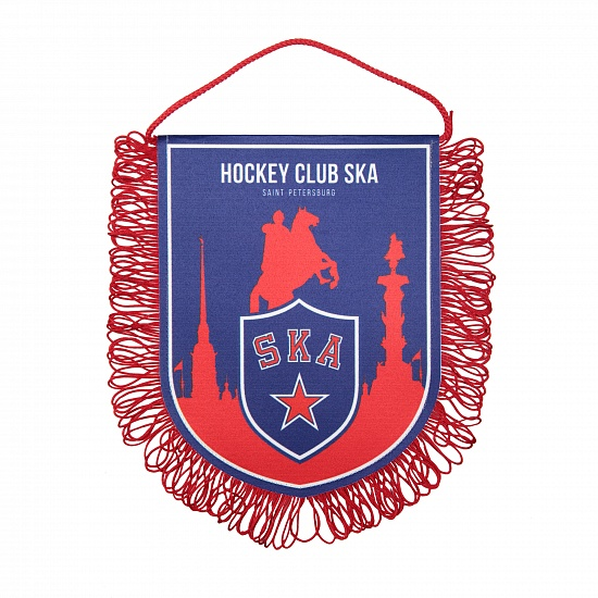 SKA double sided pennant (16х21 cm)
