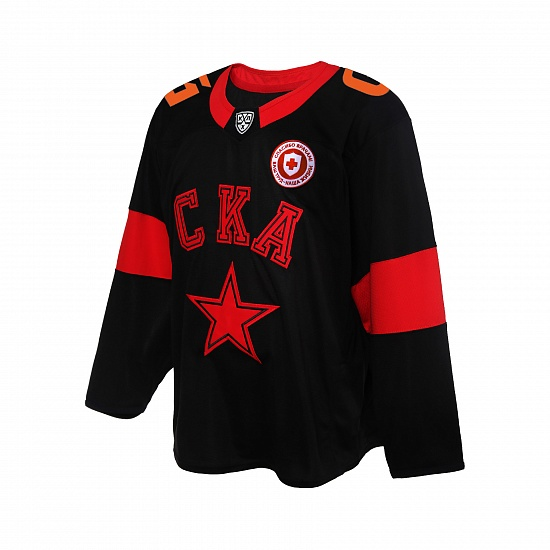 SKA Black Line women`s hockey replica jersey