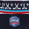 "Hat with pompom ""Hockey. Classic. Petersburg"" (RU)"