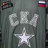 SKA Army game worn jersey with autograph. A. Zubarev, №28