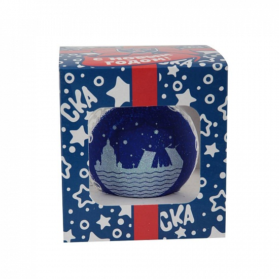 "SKA New Year's ball ""City"" (80 mm)"
