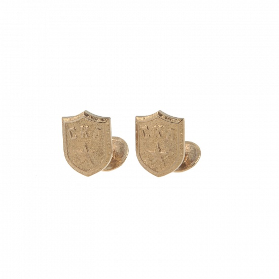 "SKA Set ""Shield"" (cufflinks and pin)"